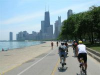 Chicago bike path
