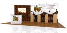 20 ft trade show display