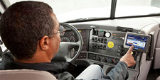Freight carrier driver