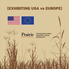 Exhibiting USA vs Europe