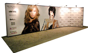 30ft trade show display