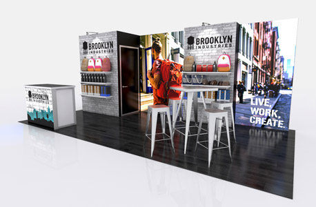 Brooklyn Industries 20ft Trade Show Exhibit