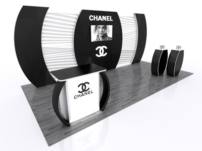 Chanel 20ft Trade Show Display