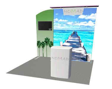 Nomad exhibit