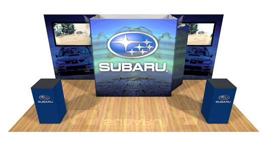 Subaru exhibit