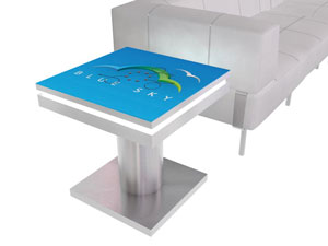Trade Show Charging Station Table