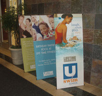 Banner Stands for Indoor Display Environments