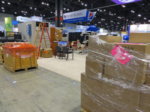 Trade Show Installation and Dismanlte